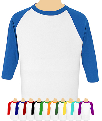 SOFFE Undershirt with 3/4  Raglan Sleeves  Teamwork/Soffe BU5