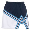 Teamwork Athletic 2 Color A-Line With Trim Cheer Skirt 4071
