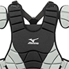 Mizuno Samurai Chest Protector Black/Grey