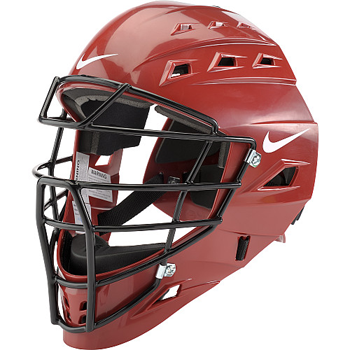 Nike Adult Elite Catcher's Mask Red