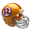 Riddell Replica Deluxe Washington Redskins VSR4 Replica Throwback (70-71)