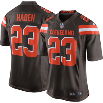 Nike NFL Cleveland Browns Game Jersey (Joe Haden)