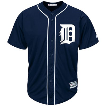 Majestic Detroit Tigers 2015 Cool Base® Primary Color Jersey