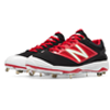 New Balance Low-Cut 4040v3 Metal Cleat red/white
