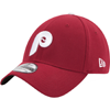 New Era MLB Philadelphia Phillies 39Thirty Cooperstown Classic Maroon Flex Hat