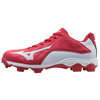 Mizuno 9-Spike Advanced Franchise 8 - Low Red