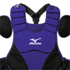 Mizuno Samurai Chest Protector Purple/Black