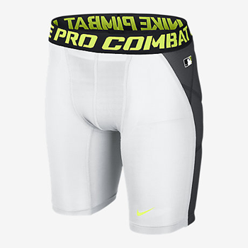 Nike Pro Hyperstrong Heist Slider 1.5 Compression white