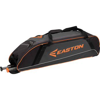 Easton E300W Wheeled Equipment Bag Black/Orange
