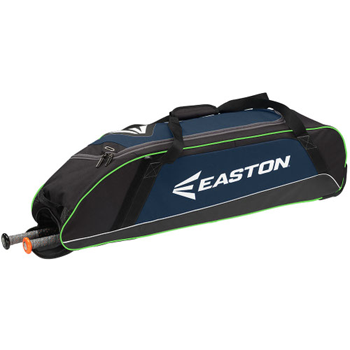 Easton E300W Wheeled Equipment Bag Navy-Light Blue
