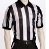 Smitty Referee Black & White 2 inch Stripes Shirts