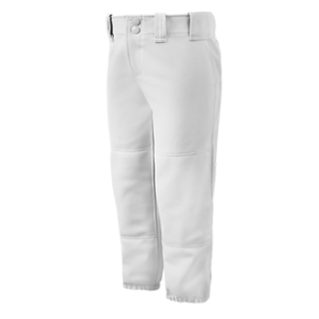 Mizuno Womens Select Belted Low Rise Pant White