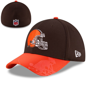 New Era NFL Cleveland Browns 2016 Official NFL Sideline 39THIRTY