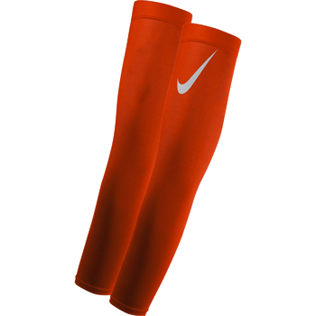 Nike Pro Adult Dri-FIT 3.0 Arm Sleeves Orange (a pair of)