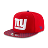 New Era New York Giants 2017 Sideline OF 9FIFTY Red Snapback