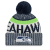 New Era NFL Seattle Seahawks 2017 Sideline Knit
