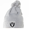 New Era NFL Oakland Raifers Logo Shine Bobble