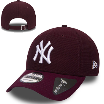 New Era MLB New York Yankees Diamond Era Essential Maroon 9FORTY