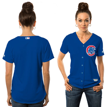 Majestic Chicago Cubs Womens Cool Base® Jersey