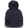 New Era MLB New York Yankees Marl Bobble Cuff Knit
