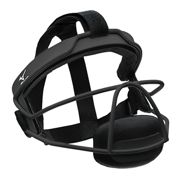 Mizuno MFF900 Wire Fastpitch Softball Fielder's Mask Black
