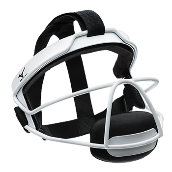 Mizuno MFF900 Wire Fastpitch Softball Fielder's Mask White