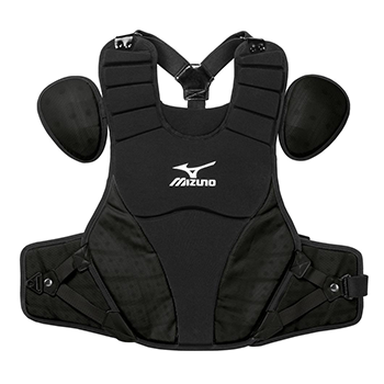 "Mizuno Samurai Baseball Chest Protector 15"" Black"