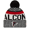 New Era NFL Atlanta Falcons 2017 Sideline Knit