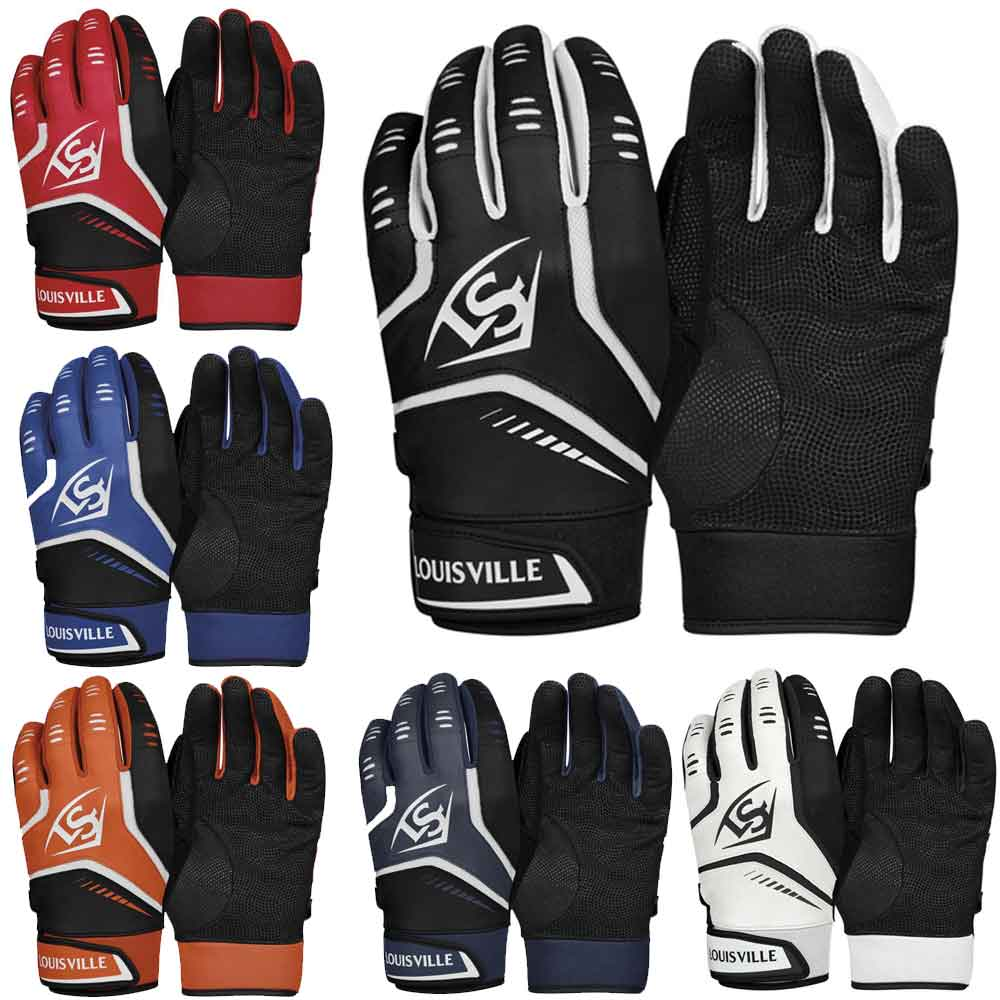 Louisville Slugger WTL6103BL OMAHA Adult Batter Gloves