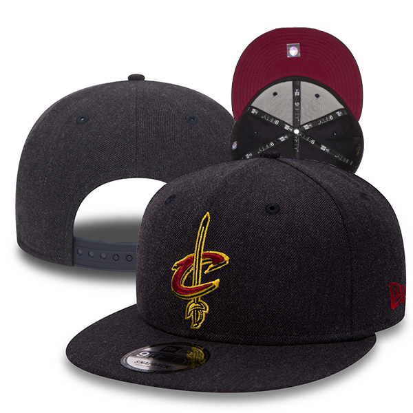 New Era NBA Cleveland Cavaliers Team heather 9Fifty Snapback