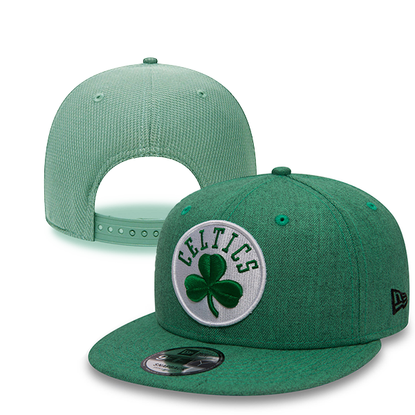 New Era NBA Boston Celtics Team Heather 9Fifty Snapback