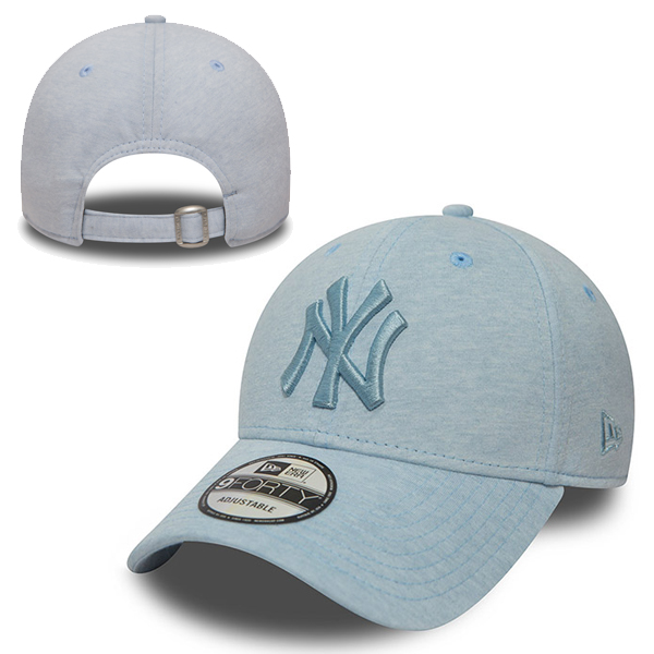 New Era MLB New York Yankees Jersey Brights Sky Blue 9Forty