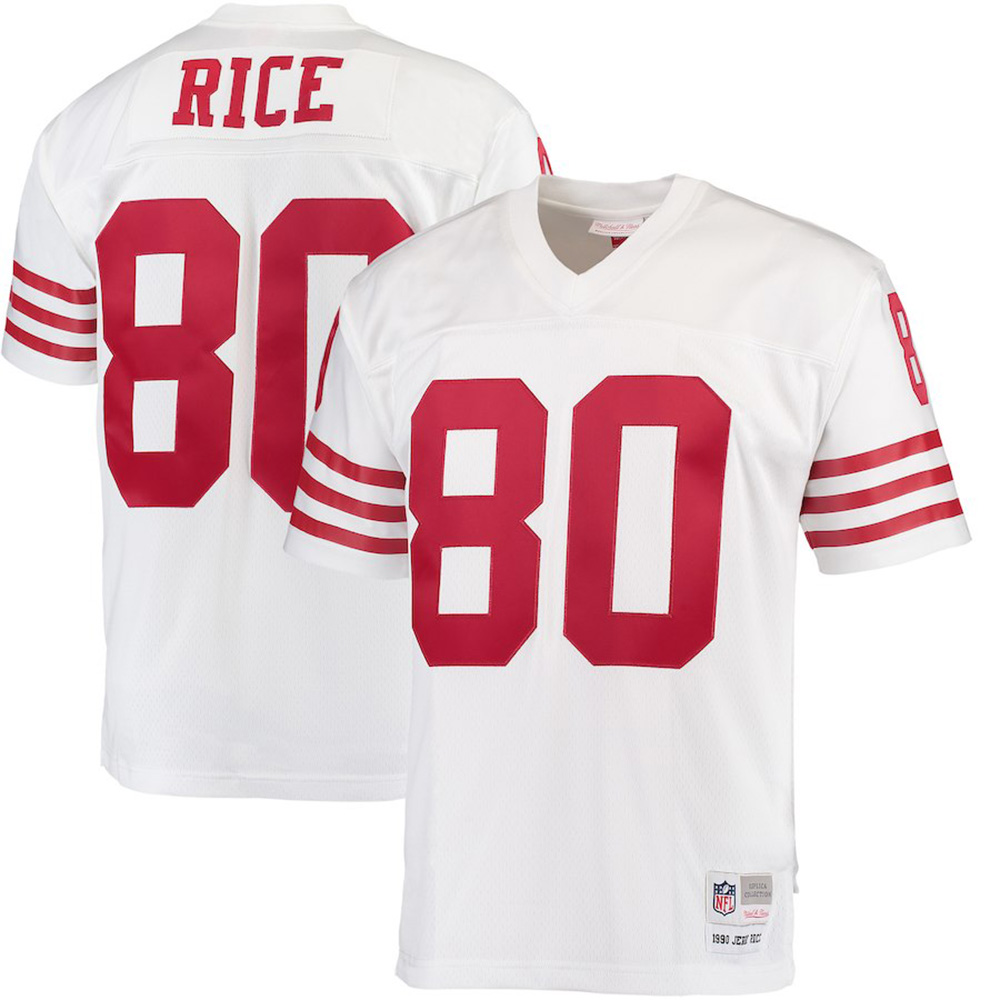 Mitchell & Ness NFL San Francisco 49ers Jerry Rice 1990 Legacy Jersey