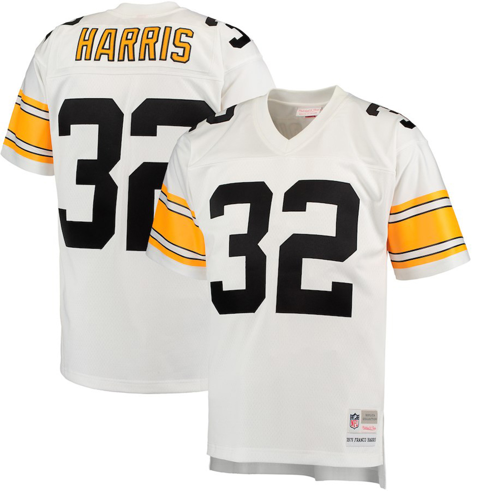 Mitchell & Ness NFL Pittsburgh Steelers Franco Harris 1976 Legacy Jersey