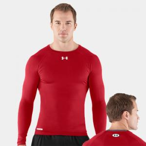 Under Armour HeatGear® Sonic Compression Longsleeve Red