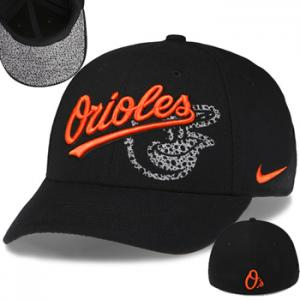 Nike MLB Orioles Dri-FIT Graphic Swoosh Flex Stertch Fit Cap