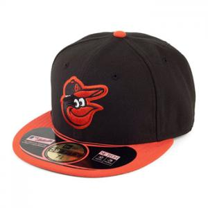 New Era MLB Baltimore Orioles  Authentic  On Field Road 59FIFTY