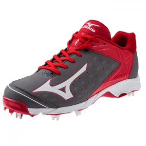 Mizuno 9-Spike Advanced Swagger 2 - Low Grey/Red