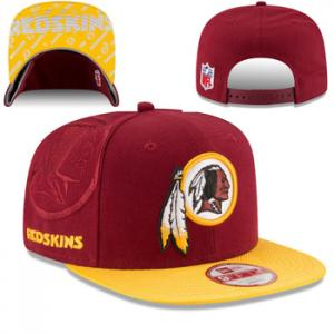 New Era NFL Washington Redskins 2016 Official Sideline 9FIFTY Original Fit Cap