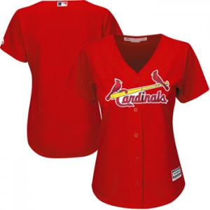 Majestic MLB ST Louis Cardinals Womens Cool Base® Jersey