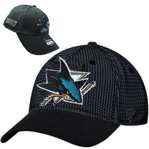 FANATICS NHL San Jose Sharks Stanley Cup Playoffs 2018 Auth Pro Draft Hat  Stretch