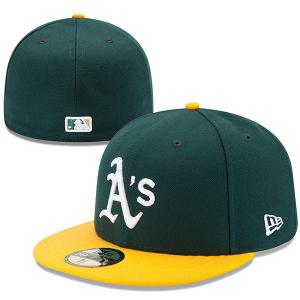 New Era MLB Oakland Athletics Authentic On Field Home 59FIFTY Cap