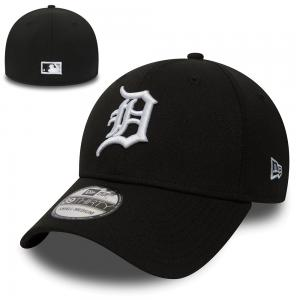 New Era MLB Detroit Tigers Logo 39Thirty Black