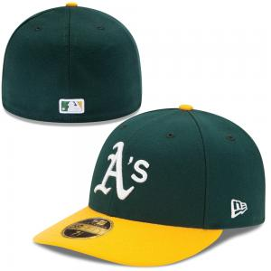 New Era MLB Oakland Athletics Home Authentic Low Profile 59FIFTY