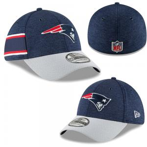 New Era NFL New England Patriots Sideline Home 2018 39Thirty