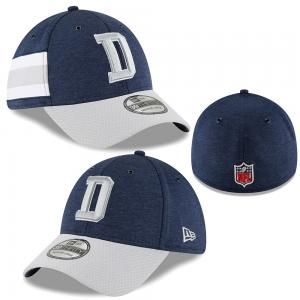 New Era NFL Dallas Cowboys Sideline Home 2018 39Thirty