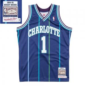 Mitchell & Ness NBA Charlotte Hornets 1994-95 Muggsy Bogues Alternate swingman Jersey
