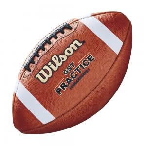 Wilson GST Leather Practice Football WTF1233B