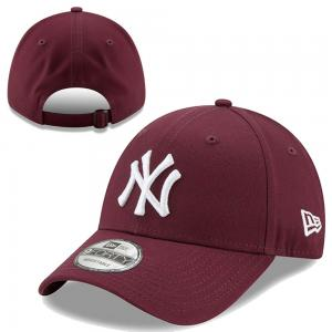 New Era MLB New York Yankees League essential Maroon 9Forty