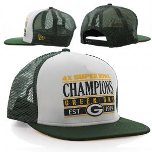 New Era NFL Green Bay Packers Champions Trucker 9Fifty